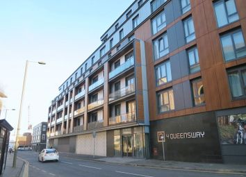 Thumbnail 2 bed flat to rent in Queensway, Redhill