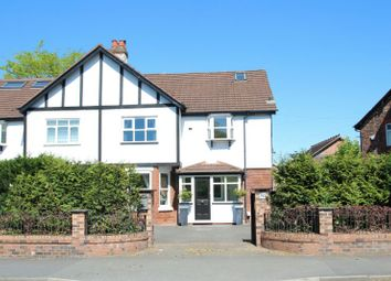 Thumbnail 6 bed semi-detached house for sale in Hale Road, Hale, Altrincham