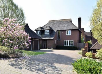 Thumbnail 4 bed detached house for sale in Springfield, Lightwater, Surrey