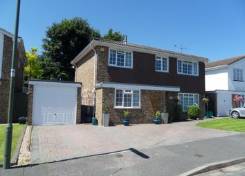 Thumbnail 4 bed detached house to rent in Loddon Way, Ash