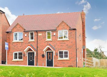 Thumbnail 2 bed semi-detached house for sale in Swan, River Lane, Waters Upton, Telford