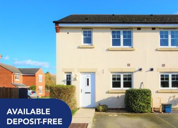Thumbnail 3 bed semi-detached house to rent in Bridge Close, Church Fenton