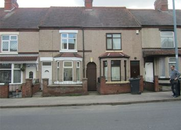 Thumbnail 3 bed terraced house to rent in Church Road, Nuneaton, Warwickshire