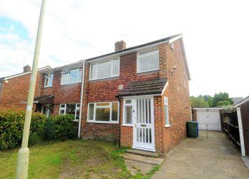 Thumbnail 3 bedroom semi-detached house to rent in Nash Close, Farnborough