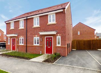 Thumbnail 3 bed semi-detached house for sale in Frank Hughes Avenue, Sandbach