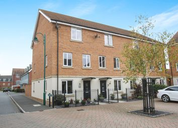 Thumbnail 4 bed end terrace house for sale in Farrow Avenue, Hampton Vale, Peterborough