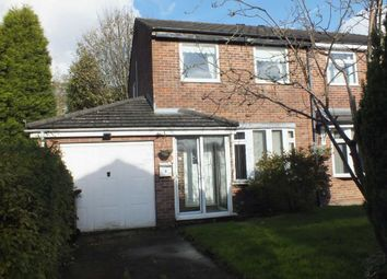 Thumbnail 3 bed semi-detached house for sale in Grovewood Close, Ashton-Under-Lyne