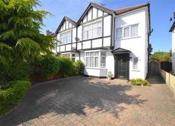 Thumbnail 3 bed semi-detached house for sale in Hampton Gardens, Southend-On-Sea, Essex