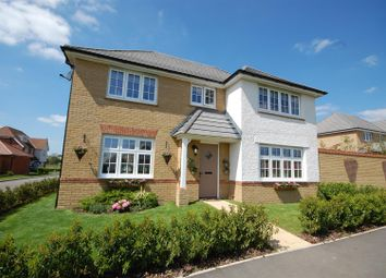 Thumbnail 4 bed detached house for sale in Bishop Way, Buntingford