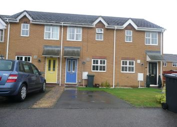 Thumbnail 2 bed terraced house to rent in Lindisfarne Close, Sandy