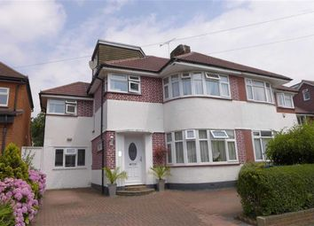 Thumbnail 5 bed semi-detached house for sale in St Edmunds Drive, Stanmore, Middlesex