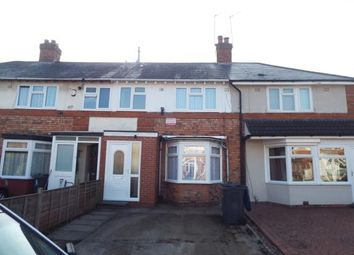 Thumbnail 2 bedroom terraced house for sale in Central Grove, Birmingham, West Midlands