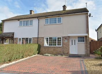 Thumbnail 2 bed semi-detached house for sale in High Street, Great Linford, Milton Keynes