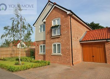 Thumbnail 3 bed detached house for sale in Waterside Drive, Ditchingham, Bungay