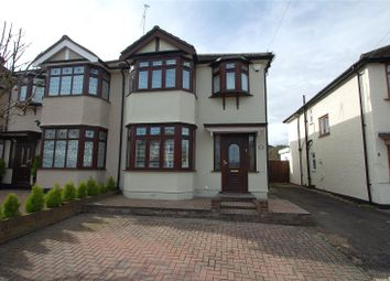 Thumbnail 4 bed semi-detached house for sale in Highfield Road, Upminster Bridge