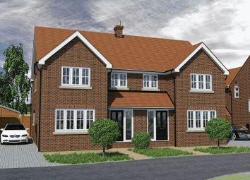 Thumbnail 4 bed semi-detached house for sale in Weston Road, Lewknor, Watlington