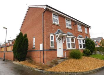 Thumbnail 3 bed semi-detached house for sale in Mill House Drive, Cheadle, Stoke-On-Trent