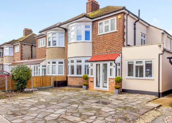Thumbnail 4 bed semi-detached house for sale in Pettits Boulevard, Romford