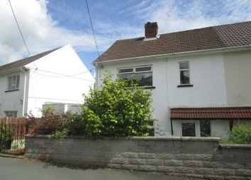 Thumbnail 2 bed semi-detached house for sale in Henneuadd Road, Abercrave, Swansea.