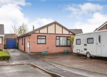 Thumbnail 2 bed detached bungalow for sale in Snetterton Close, Lincoln