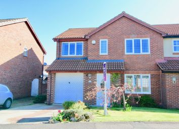 Thumbnail 4 bed semi-detached house for sale in Talland Close, Hartlepool