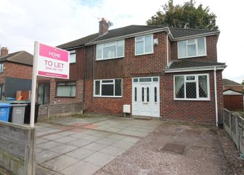 Thumbnail 4 bed semi-detached house to rent in Lock Lane, Partington, Manchester