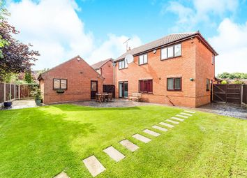 Thumbnail 4 bed detached house for sale in Waterdale Close, Sprotbrough, Doncaster