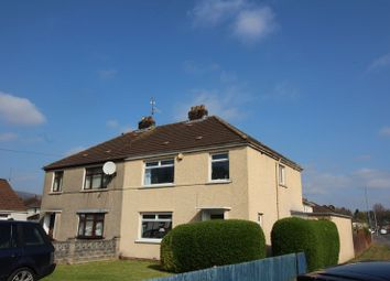 Thumbnail 3 bed semi-detached house to rent in South Road, Oakfield, Cwmbran