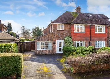Thumbnail 3 bedroom semi-detached house to rent in Hamfield Close, Oxted, Surrey