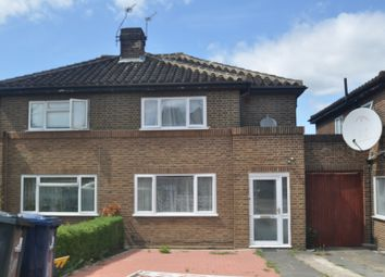 Thumbnail 3 bed semi-detached house for sale in Twyford Abbey Court, London