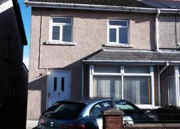 Thumbnail 3 bed semi-detached house to rent in Gelligaer Road, Cefn Hengoed, Hengoed