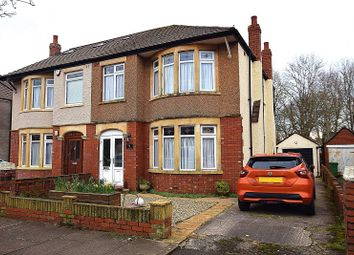 Thumbnail 3 bed semi-detached house for sale in St. Angela Road, Heath, Cardiff.