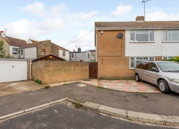 Thumbnail 3 bed semi-detached house for sale in 6 Pembury Close, Worthing, West Sussex
