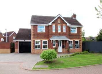 Thumbnail 3 bed detached house for sale in Huzzard Close, Walkington, Beverley
