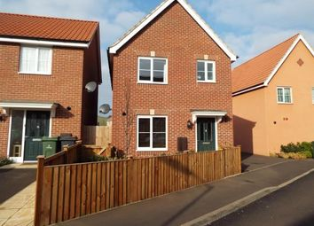 Thumbnail 3 bed detached house for sale in Carbrooke, Thetford, Norfolk