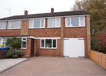 Thumbnail 5 bed semi-detached house for sale in Ash Grove, Lichfield