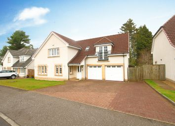 Thumbnail 4 bed detached house for sale in Bellefield Crescent, Lanark, Lanarkshire