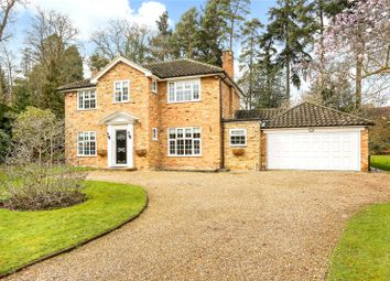 Thumbnail 4 bedroom detached house for sale in Greenways Drive, Sunningdale, Berkshire