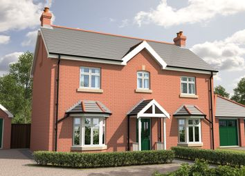 Thumbnail 3 bed detached house for sale in Abbey View, Woodhall Spa