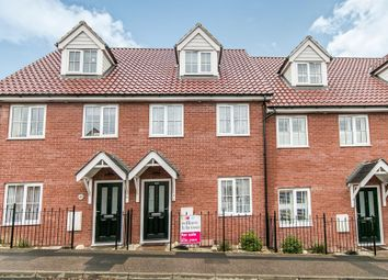Thumbnail 3 bed town house for sale in Humphry Road, Sudbury