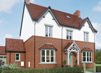 Thumbnail 5 bedroom detached house for sale in The Dovecliffe, Moira, Leicestershire