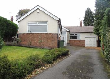 Thumbnail 3 bed detached bungalow for sale in Crossfield Grove, Marple Bridge, Stockport