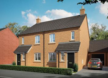 Thumbnail 3 bed semi-detached house for sale in Brick Kiln Road, Raunds, Northampton, Northamptonshire