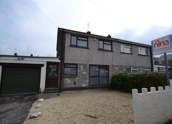 Thumbnail 3 bed semi-detached house for sale in Gibbonsdown Close, Barry