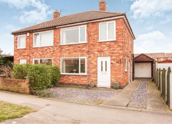 Thumbnail 3 bed semi-detached house for sale in Anthea Drive, York