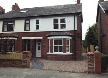 Thumbnail 4 bed property to rent in Fairfield Road, Stockton Heath, Warrington