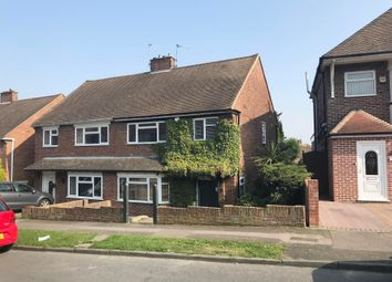 Thumbnail 3 bed semi-detached house for sale in 32 Chapter Road, Strood, Rochester, Kent