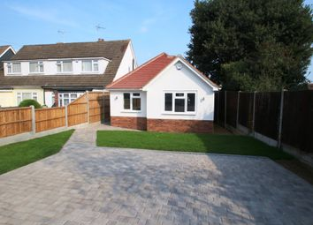 Thumbnail 2 bed detached bungalow for sale in Bosworth Close, Hawkwell, Hockley