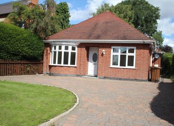 Thumbnail 3 bed detached bungalow for sale in Station Road, Stoke Golding, Nuneaton