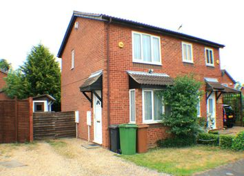 Thumbnail 2 bed semi-detached house to rent in Coniston Close, Wellingborough, Northamptonshire